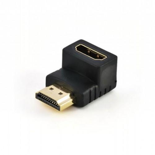 ADAPTADOR HDMI HEMBRA A HDMI MACHO 90
