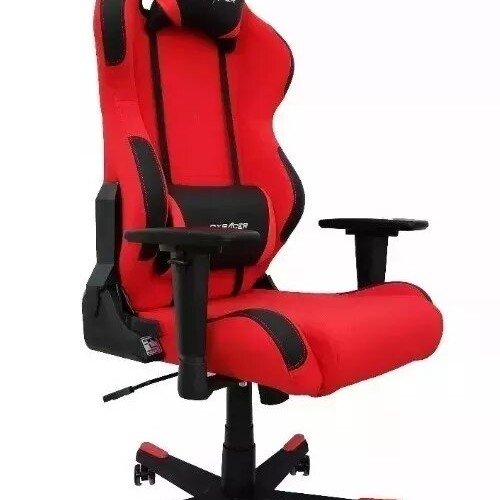 BUTACA DX RACER RACING SERIES RED BLACK
