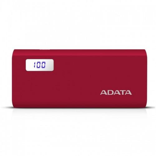 POWER BANK ADATA 12500 MAH RED